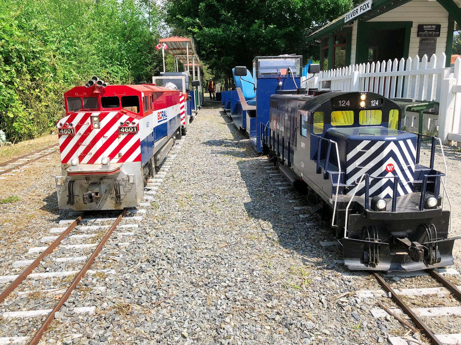 Mini-rail double at Silver Fox