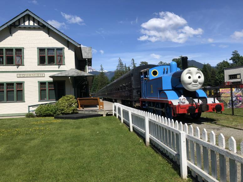 Day out with Thomas - August 2021